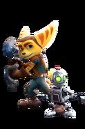 Ratchet & Clank Render