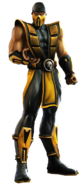 Mortal Kombat - Scorpion as he appears in Mortal Kombat Armageddon