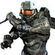Halo - Master Chief in Combat Stance