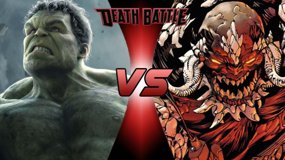 Image - Death Battle Hulk vs Doomsday.jpg | DEATH BATTLE ... Doomsday Vs Hulk Death Battle