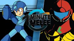 Samus Aran vs Mega Man - One Minute Melee