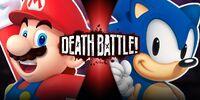 Mario VS Sonic