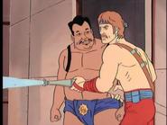 Chuck Norris as seen in Karate Kommandos