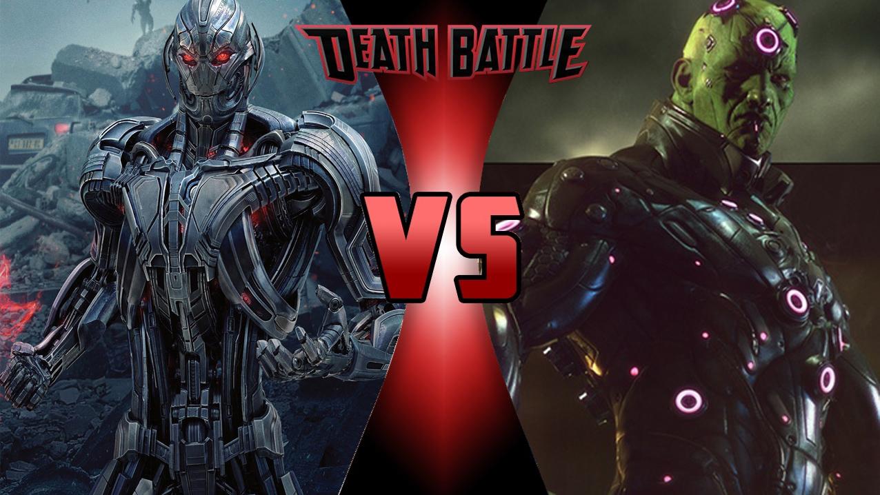 Image - Death Battle - Ultron VS Brainiac.jpg   DEATH ...