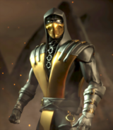 Mortal Kombat - Scorpion's Gold Outfit as seen in Mortal Kombat X