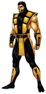 Mortal Kombat - Scorpion as seen in Ultimate Mortal Kombat 3