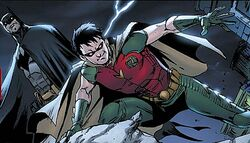 Jason Todd as Robin