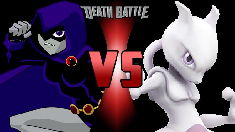 Death Battle Raven vs Mewtwo cover