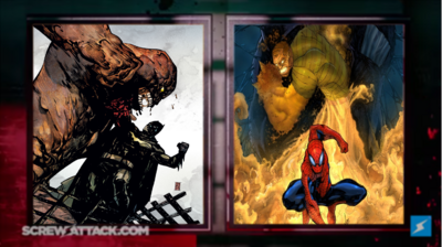 Clayface vs Samdman set
