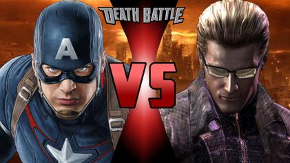 Captain America VS Albert Wesker