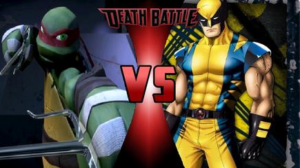 8.Raphael vs Wolverine Death Battle-0