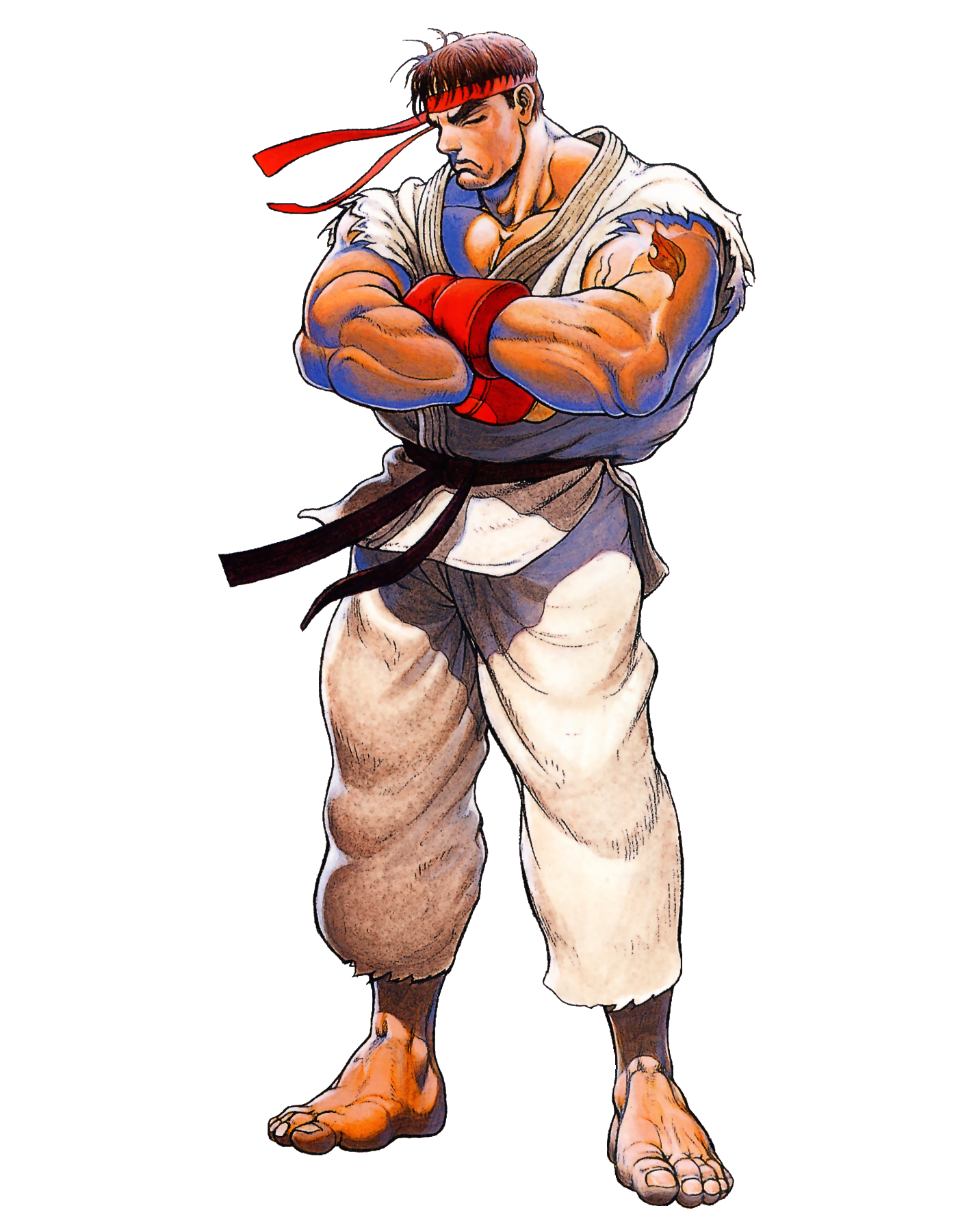 Image result for Streetfighter RYU rising uppercut pic