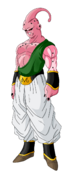 Super buu tien and yamcha absorbed by d20watt-d4ikn25