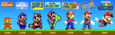 Super Mario Brothers - The Evolution of Mario