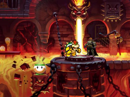 Bowser VS Ganondorf fight image