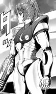 Metroid - Samus Aran as she appears in the manga
