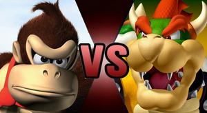 Donkey Kong Bowser Fake Thumbnail