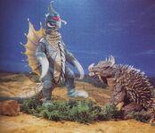 Gigan and Anguirus talk