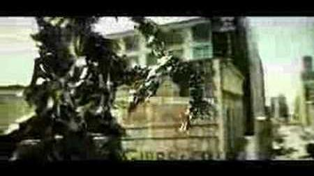 Jazz Ripped Apart by Megatron in Transformers Movie