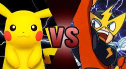 Pikachu vs Elecman