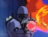 GI Joe Cartoon - Snake Eyes