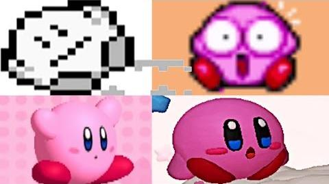 Evolution Of Kirby's Death Animations & Game Over Screens (1992-2016)