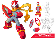 Megaman 11 protoman by ultimatemaverickx-d7tlnr4