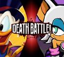 Scrooge McDuck vs Rouge the Bat