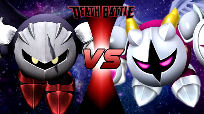 Dark Meta Knight VS Galacta Knight | Death Battle Fanon ...