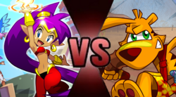 Shantae vs Ty the Tasmanian Tiger