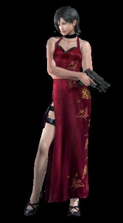 Ada wong 1 re4 professional render by allan valentine-d599l0e