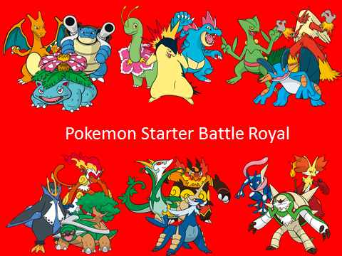 pokemon red how to get all starters