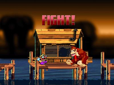 WARIO VS DONKEY KONG FIGHT