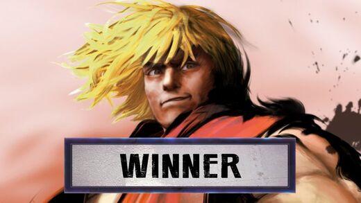 Ken is the winner