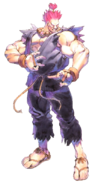 Street Fighter - Akuma as he appears in Super Street Fighter II Turbo