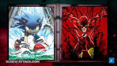 Sonic (Archie) VS Flash Preview