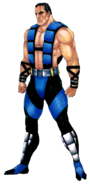 Mortal Kombat - Sub-Zero as he appears in Mortal Kombat 3
