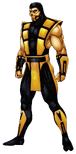Mortal Kombat - Scorpion as seen in Ultimate Mortal Kombat 3