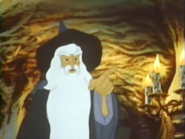 The Lord of The Rings - Gandalf as he appears in The Lord of The Rings 1978 film