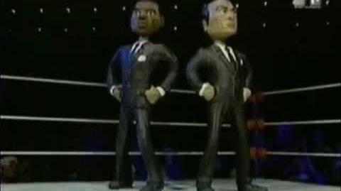 Celebrity Deathmatch - Men In Black Vs X Files