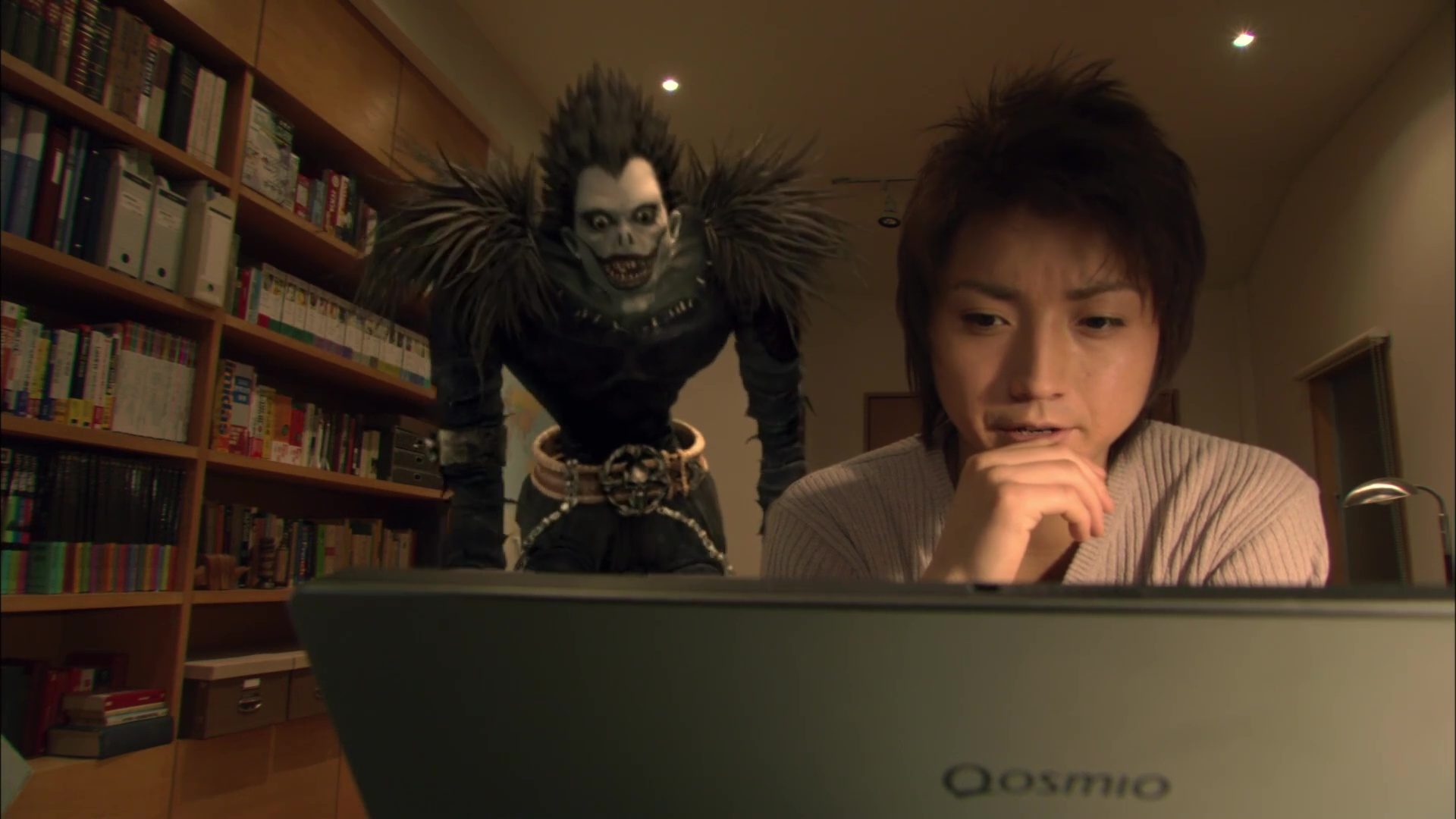 Death Note film- Ryuk and Light