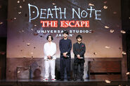 Death Note the Escape LNW actors