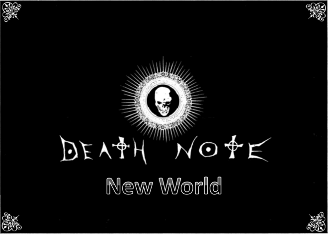 Death Note - New World
