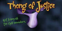 Thong of Justice