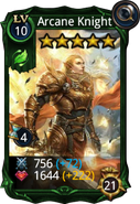 Arcane Knight creature card