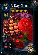 V-Day Choco card
