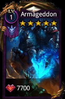 Armageddon hero card