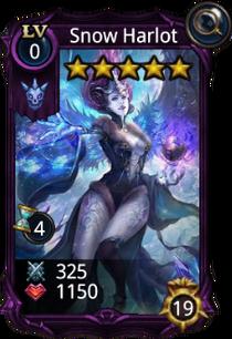 Snow Harlot creature card
