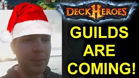 DECK HEROES GUILDS ARE COMING! - Xmas Update & More