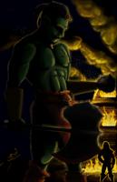 Butcher by ladyshalafae